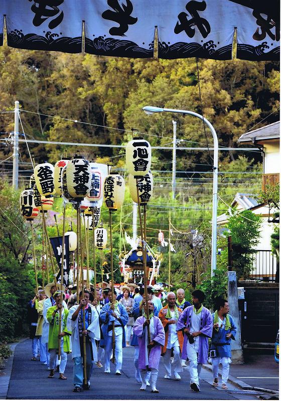 川勾神社の例大祭